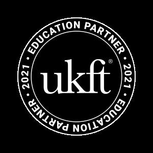 UKFT-EducationPartner-Stamp2021-BlackSolid